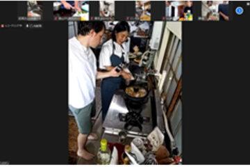 志麻さんによる、ワーパパ向け、「簡単・おいしいフランス家庭料理教室」を実施しました。@オンライン